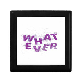 Purple Whatever PNG Gift Box