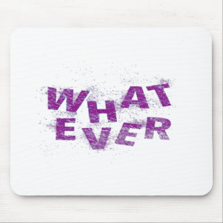 Purple Whatever PNG Mouse Pad