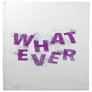 Purple Whatever PNG Napkin