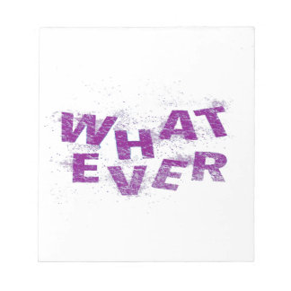 Purple Whatever PNG Notepad