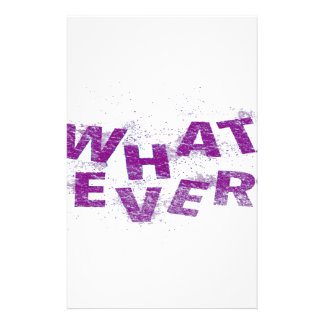 Purple Whatever PNG Stationery
