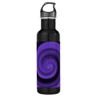 Purple Whirly Liberty Bottle