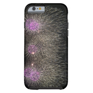 Purple & White Fireworks (iPhone 6/6s Case) Tough iPhone 6 Case