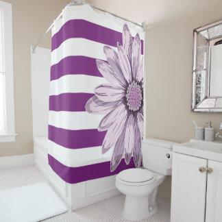 Purple White Stripe Flower