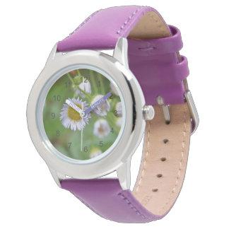 Purple Wild Daisy Watch