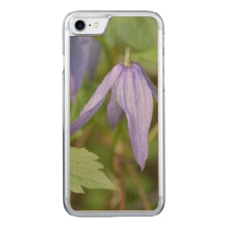 Purple Wildflower Carved iPhone 8/7 Case