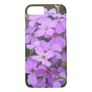 Purple Wildflower iPhone 7 Case