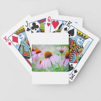 Purple Wildflowers Bicycle Playing Cards