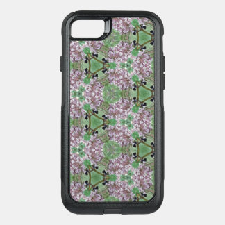 Purple Wildflowers & Bumble Bees Phone Case