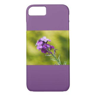 Purple wildflowers iPhone 8/7 case