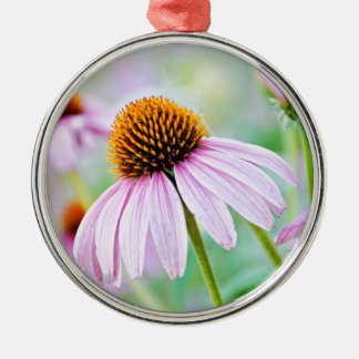 Purple Wildflowers Metal Ornament