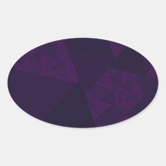 Purple Windmills Sticker