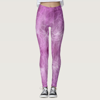 Purple Wispy Leggings