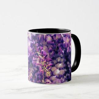 Purple Wisteria Coffee Cup