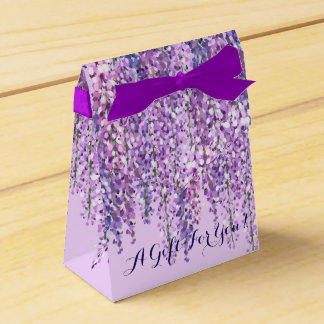 Purple Wisteria Favour Box   A Gift For You!