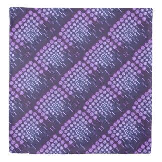 Purple Wisteria Flower Garden Japanese Tree Bold Duvet Cover