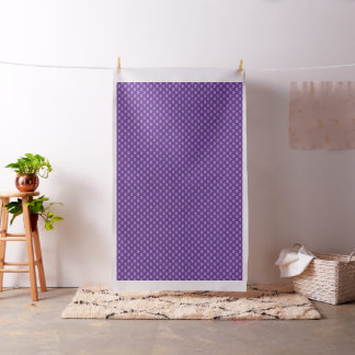 Purple with lighter Colour Hearts Pattern Fabric