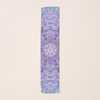 Purple Wood Lace Scarf