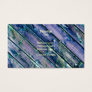 Purple Wooden Gate Business Card