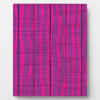 Purple Wooden Grunge Background Plaque