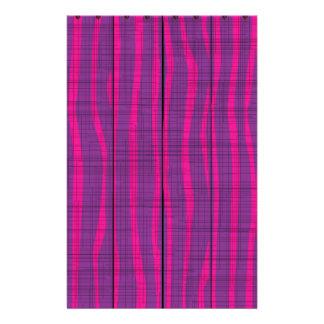 Purple Wooden Grunge Background Stationery