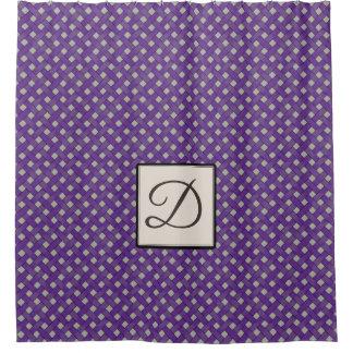 Purple Woven Rattan on Custom Color with Monogram