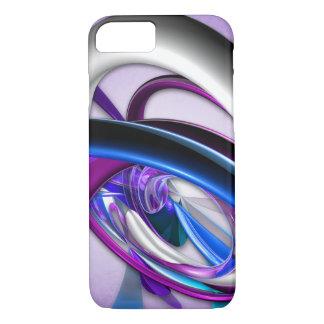 Purple Wrap Glass iPhone 7 Case