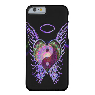 Purple Yin Yang, Angel Wings, Halo Barely There iPhone 6 Case