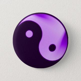 Purple Yin yang button