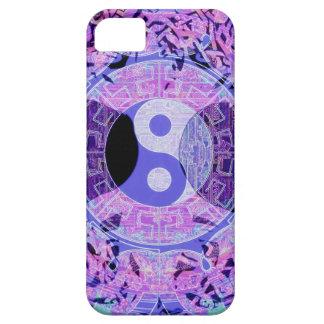 Purple Yin Yang iPhone 5 Cover