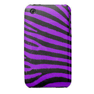 Purple Zebra iPhone 3G/3GS Case-Mate Barely There™ iPhone 3 Case-Mate Case