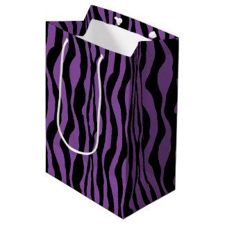 Purple Zebra Print Gift Bag