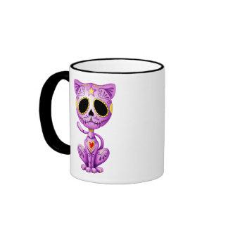 Purple Zombie Sugar Kitten Mugs