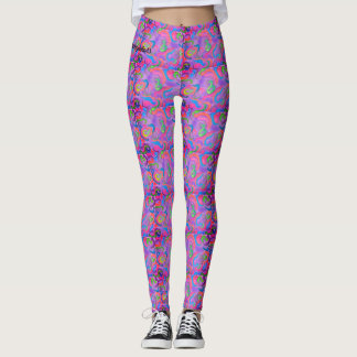 purplebow leggings