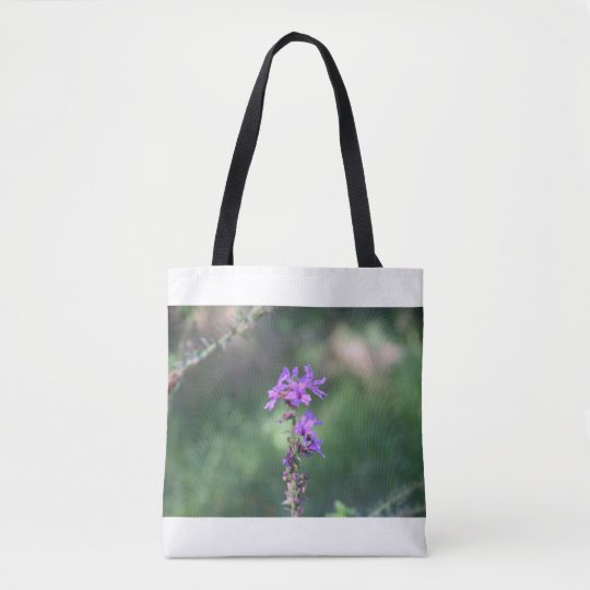 purpleflowertotebag tote bag
