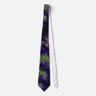 PurpleFractalGalaxies Tie