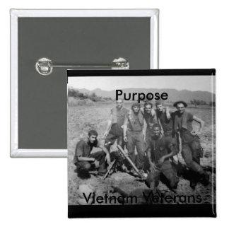 Purpose 2 Inch Square Button