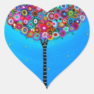 PURPOSE OF LIFE HEART STICKER