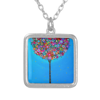 PURPOSE OF LIFE SILVER PLATED NECKLACE