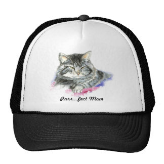 Purr fect Mom for the Cat Lover Trucker Hat