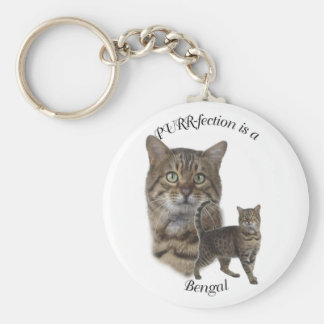 PURR-fection Bengal Keychain