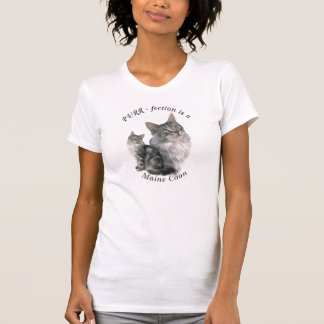 PURR-fection maine Coon Cat T-Shirt