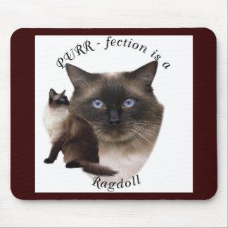 PURR-fection Ragdoll Mouse Pad