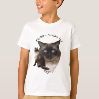 PURR-fection Ragdoll T-Shirt