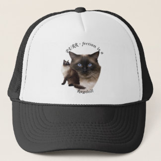 PURR-fection Ragdoll Trucker Hat