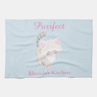 Purrfect Cat Kitchen Towel