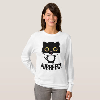 PURRFECT funny Cat T-shirts