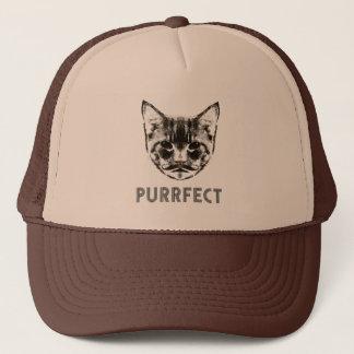 Purrfect trucker cap