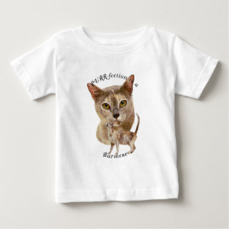 PURRfection Burmese Blue Tortie Baby T-Shirt