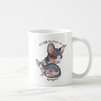 PURRfection Sphynx Coffee Mug